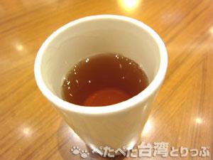 鼎泰豐の烏龍茶