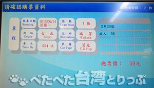 台湾鉄道 切符 買い方
