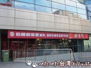 MRT台北小巨蛋駅1番出口(外)