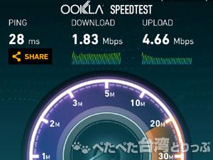 7Wi-Fiの通信速度1