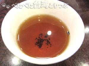 點水樓食べ放題の普洱茶(プーアール茶)