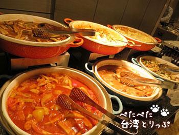 ホテルロイヤル台北 朝食 洋食