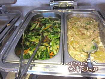 ホテルロイヤルイン台北南西 朝食