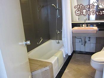 シーザーパークホテル台北 バスルーム