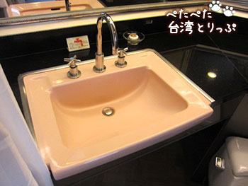 シーザーパークホテル台北 洗面台