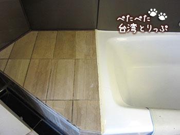 シーザーパークホテル台北 バスルームは余裕のスペース