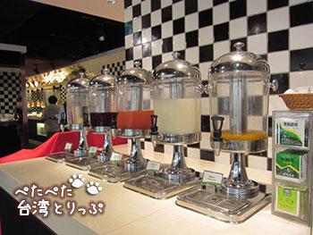 シーザーパーク台北 朝食 ビュッフェ