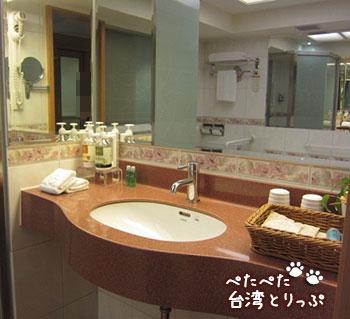 コスモスホテル 洗面台