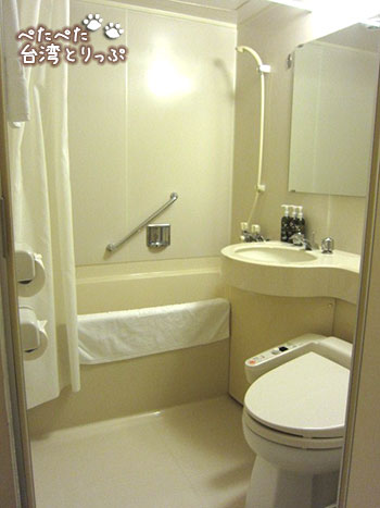 ホテルサンルート台北 バスルーム