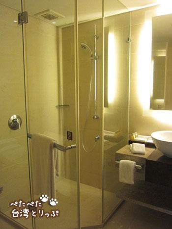 パークタイペイホテル シャワーブース