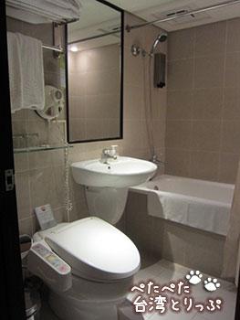 ロイヤルイン台北 バスルーム
