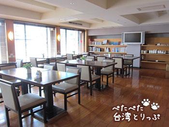 ホテルロイヤルイン台北 ロビー・朝食会場