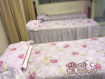 ロイヤルイン台北南西のマッサージ 楽天養生会館 南京店