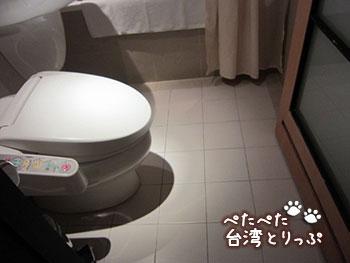 ロイヤルイン台北南西 トイレ