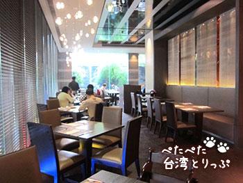 パークタイペイホテル 台北美侖大飯店 朝食会場