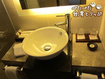 パークタイペイホテル 洗面台