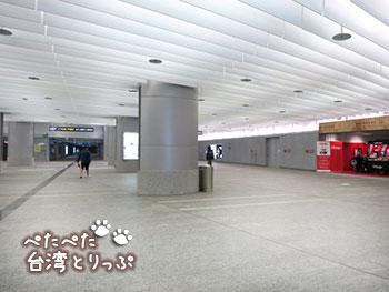 桃園空港MRT 台北駅 北門まで