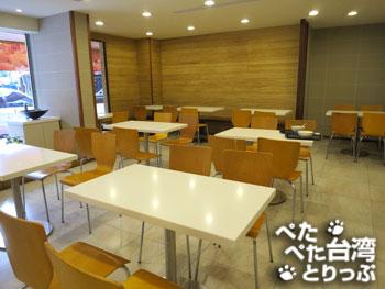 大方冰品 光復店の店内(客席)