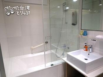 丹迪旅店 バスルーム