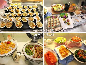ダンディホテル ダーアン パークブランチの朝食