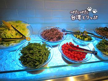 洛碁大飯店忠孝館の朝食