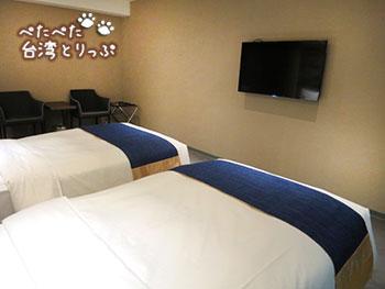 グリーンワールドホテル忠孝 ベッド