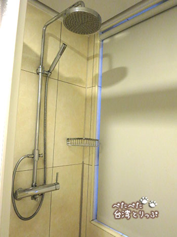京站国際サービスアパートメント デラックスルーム シャワールーム