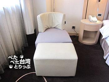 Kホテル台北松江館のお部屋