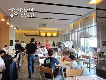 パークシティホテル瀘州(ルゾウ)の朝食会場