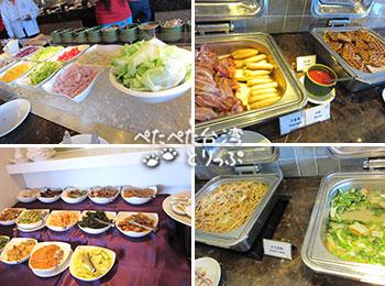 パークシティホテル瀘州(ルゾウ)の朝食