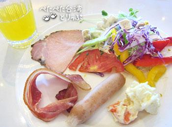 パークシティホテルルゾウの朝食