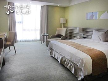 パークシティホテル瀘州台北のお部屋