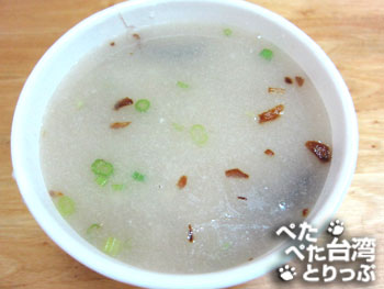 三娘香菇肉粥の香菇肉粥(小)