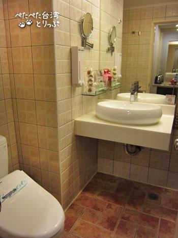 ヨウメイホテル スーペリア バスルーム