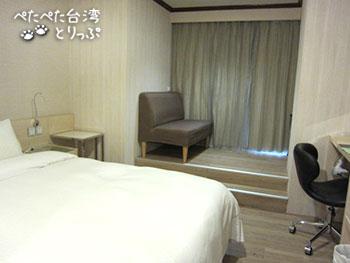 優美ホテル スーペリア ダブルルーム 1ダブルベッド