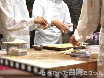 鼎泰豐南西店の厨房