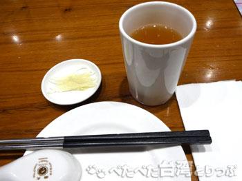 鼎泰豐南西店のテーブルセット