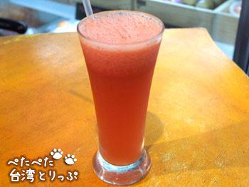 陳記百果園のスイカジュース