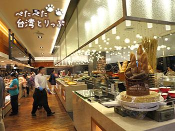シーザーメトロ台北 朝食レストラン