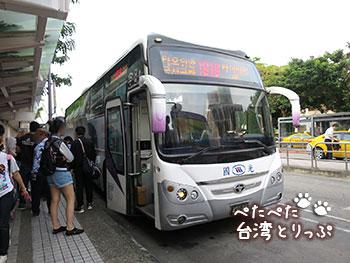 国光客運バス 台北駅バスターミナル