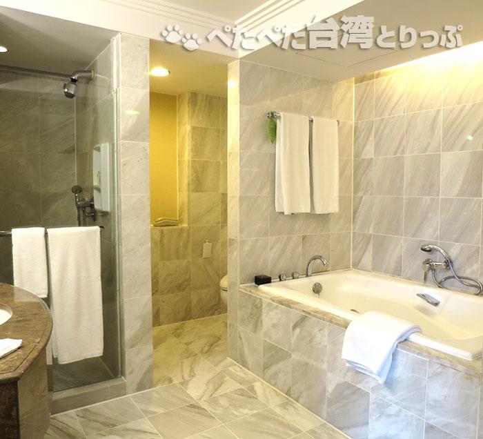 リージェント台北 バスルーム