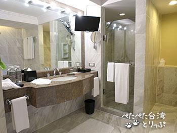 リージェント台北 洗面台