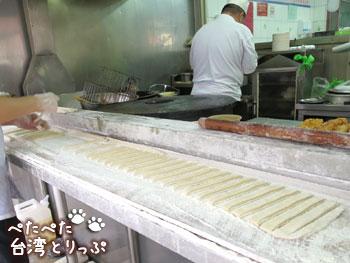 永和豆漿大王の厨房